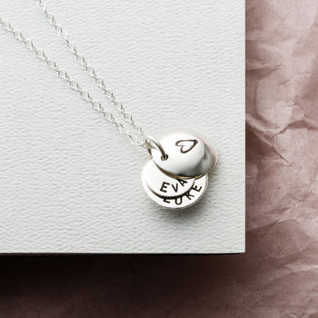 Personalised Secret Message Necklace -0