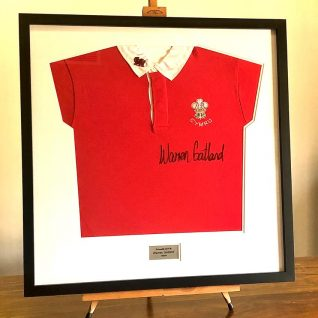 Warren Gatland Signed Welsh Rugby Shirt -0