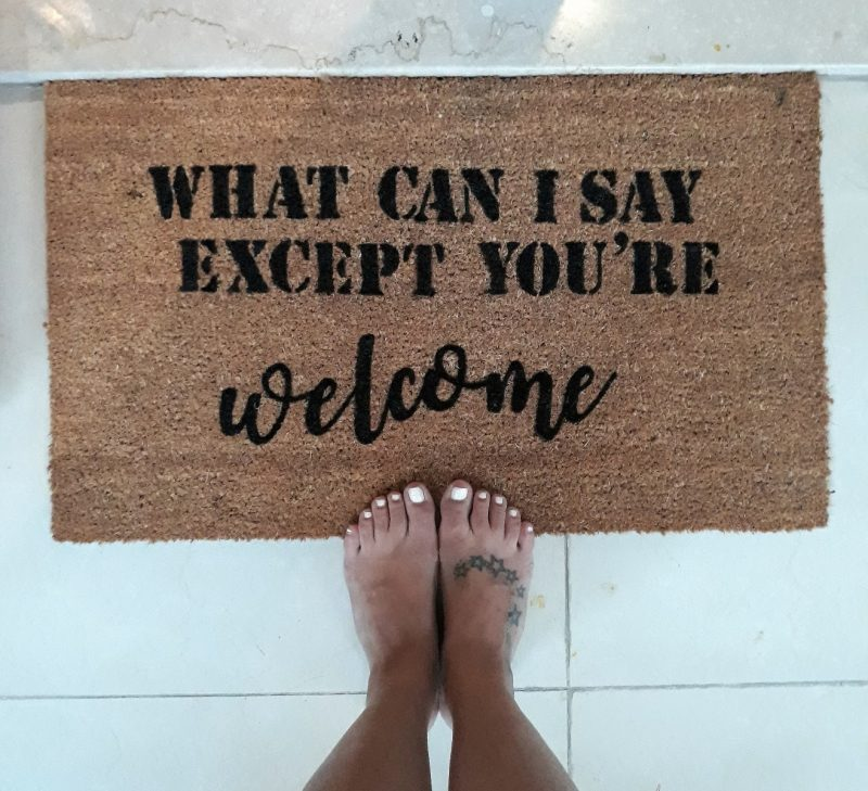 Doormat - What can I say, except you're welcome-0