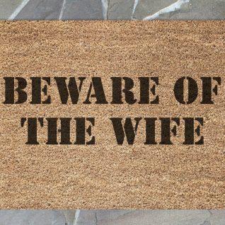 Doormat - Beware of the wife-0