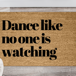 Doormat - Dance like no one is watching-0