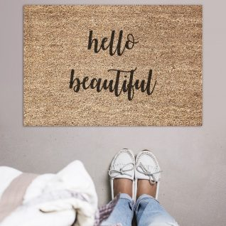 Doormat - Hello beautiful -0