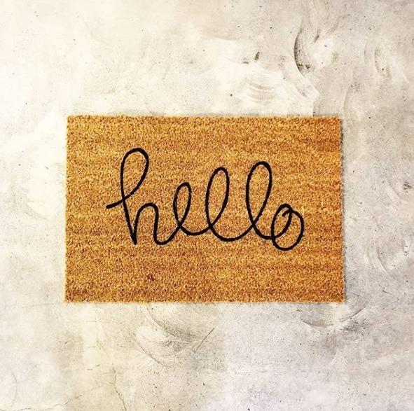 Doormat - Hello-0