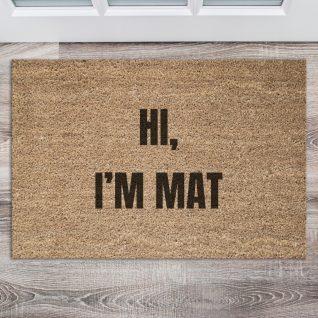 Doormat - Hi I'm mat-0