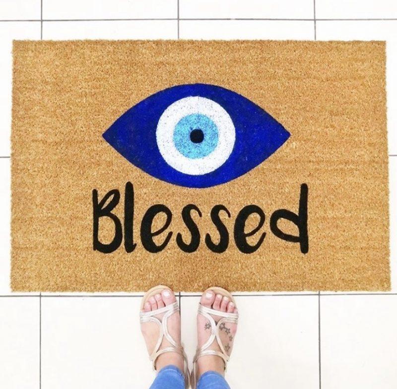 Doormat - BLESSED-0