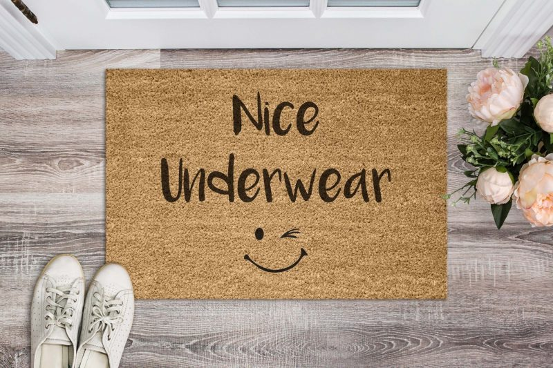 Doormat - Nice underwear-0