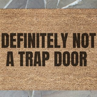 Doormat - Not a trap door-0