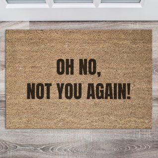 Doormat - Oh no not you-0