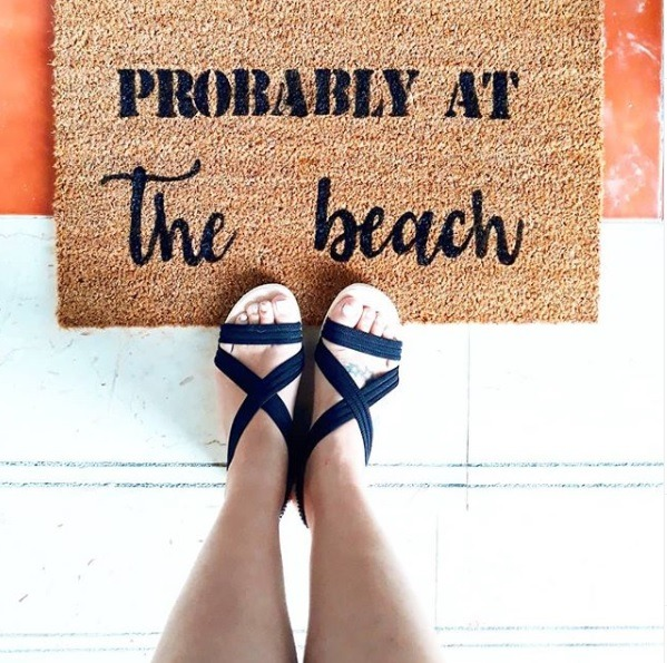 Doormat - Probably at the beach -0