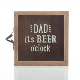 Gift - 'Dad It's Beer O'Clock Bottle Top Collector'-0