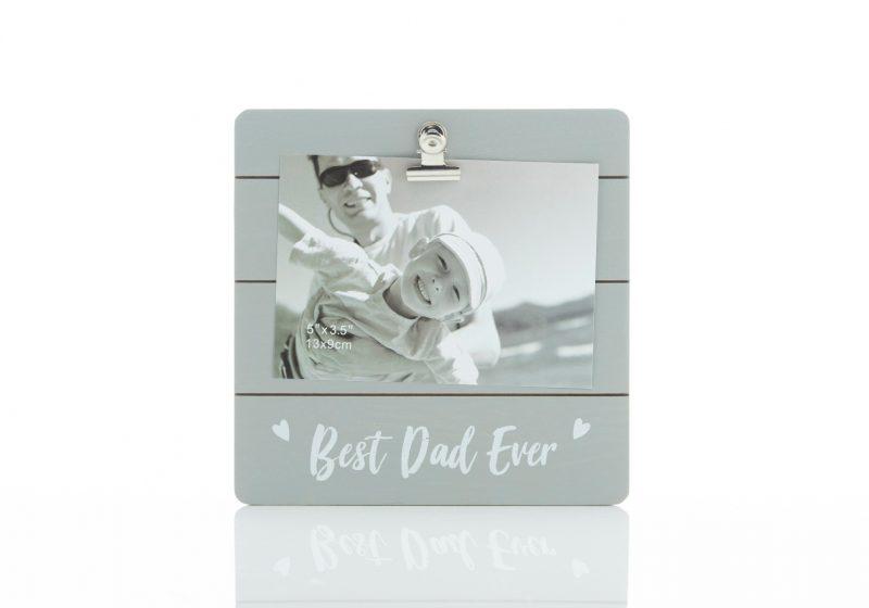 Gift - 'Cutie Clip Frame Best Dad'-0