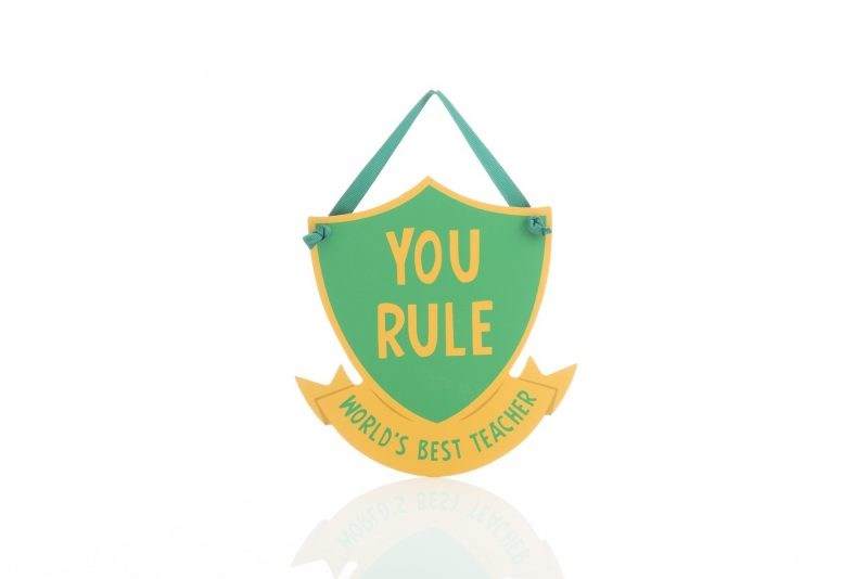Gift - 'Wooden Signs - You Rule'-0