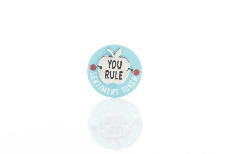 Gift - 'Worlds Best Teacher Tokens - You Rule'-0