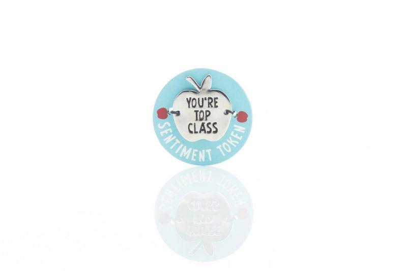 Gift - 'Worlds Best Teacher Tokens - You're Top Class'-0