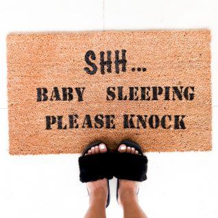 Doormat - Shhh baby sleeping -0