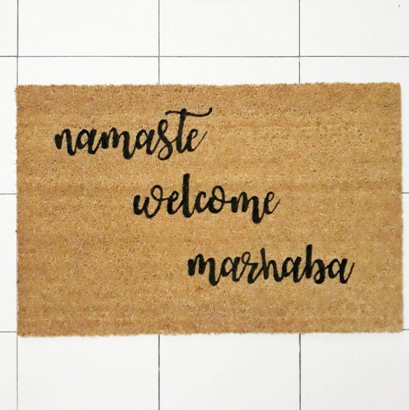 Doormat - Namaste -0