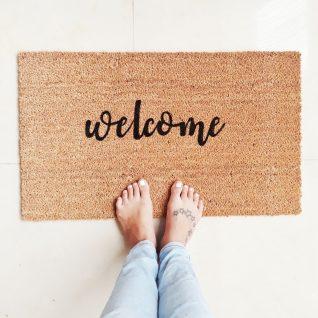Doormat - Welcome -0