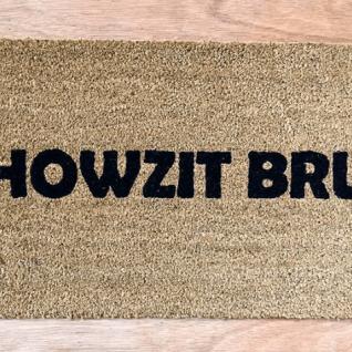 Doormat - Howzit bru-0