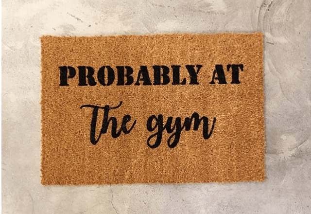 Doormat - Probably At The Gym.-0