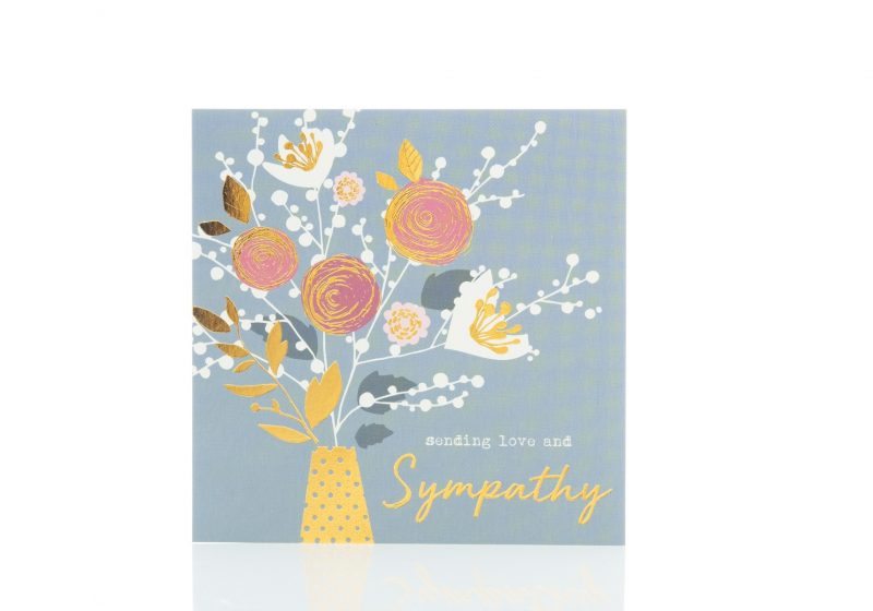 Cards - 'Sending Love and Sympathy'-0