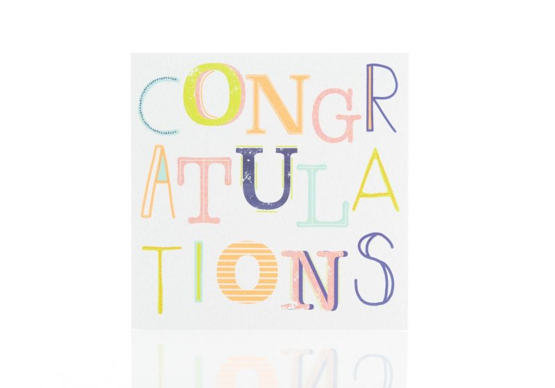 Cards - 'Congratulations'-0