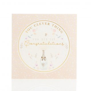 Cards - 'You Clever Thing Congratulations'-0