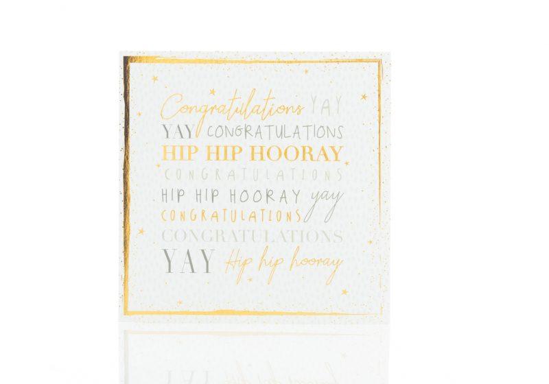 Cards - 'Congratulations Yay Hip Hop Hooray'-0