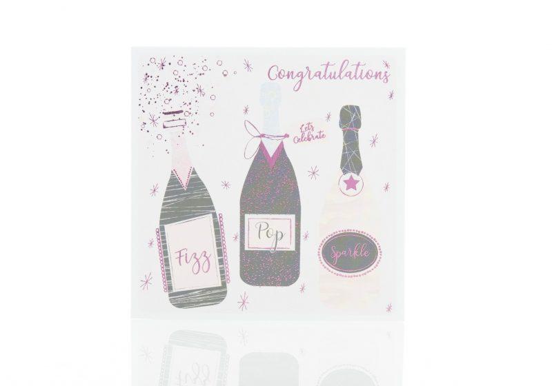 Cards - 'Congratulations Fizz Pop Sparkle'-0