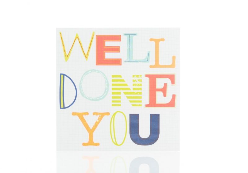 Cards - 'Well Done You'-0