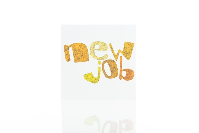 Cards - 'New Job'-0