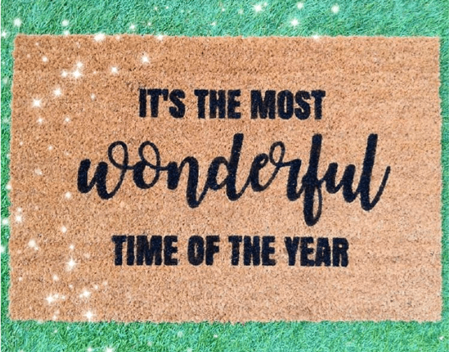 Doormat - It's the most wonderful time of the year-0