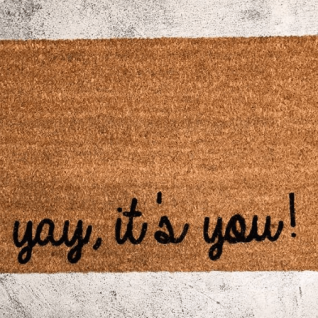 Doormat - Yay,It's you !-0