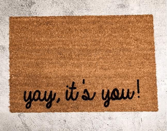 Doormat - Yay,It's you !-0